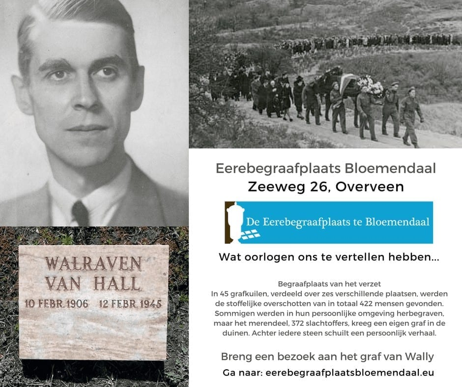 Eereebegraafplaats Bloemendaal Overveen Verzet Tweede Wereldoorlog