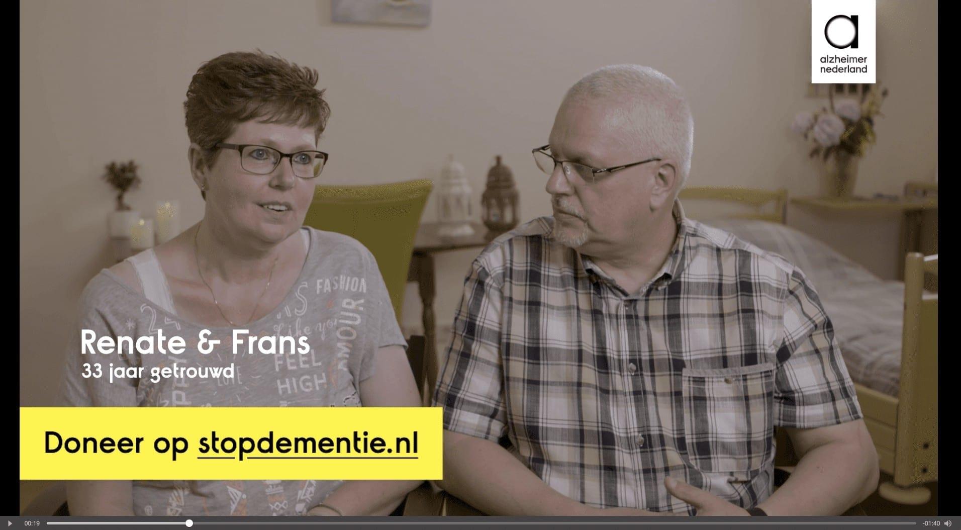 Alzheimer-Nederland DRTV Direct Response Television Frans