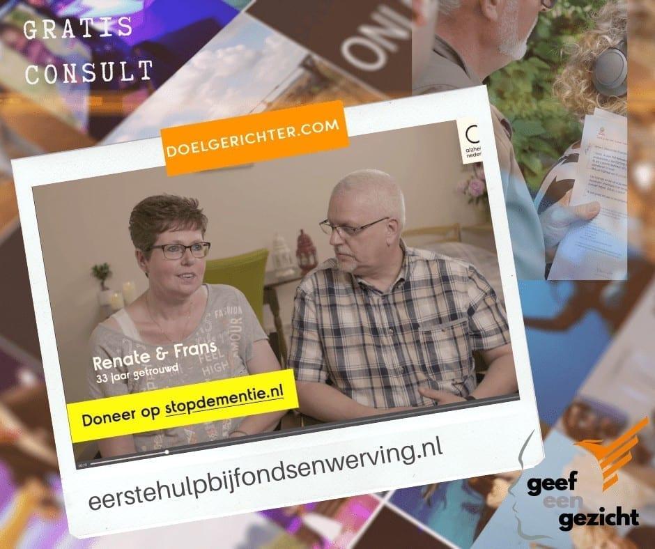 Alsheimer-Nederland Dementie krijgt een gezicht