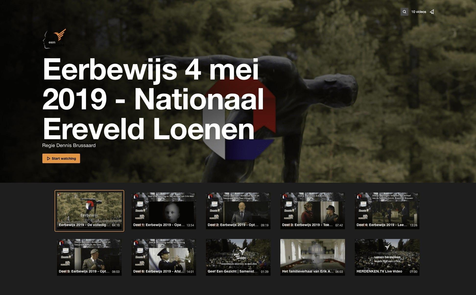 Eerbewijs Oorlogsgravenstichting Nationaal Ereveld Loenen Geef Een Gezicht Dennis Brussaard