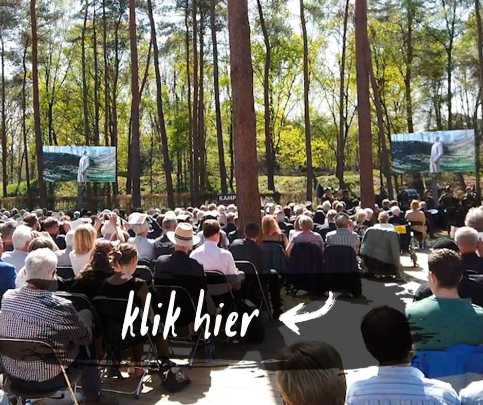 corona alternatief evenement online reportages documentaires commercials Geef Een Gezicht Herdenken Ereveld Vol Leven Dennis Brussaard