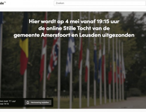 Online Stille Tocht 4 mei 2020 Amersfoort en Leusden