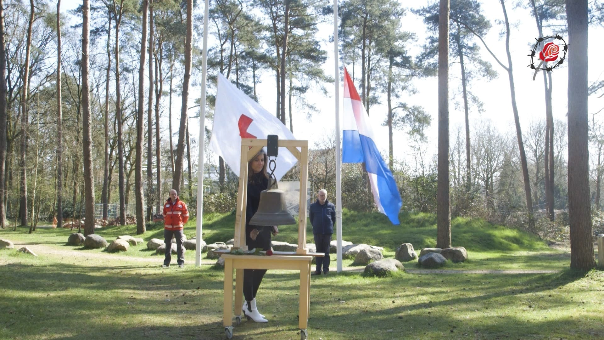 Kamp Amersfoort herdenking 19 april Geef Een Gezicht door Dennis Brussaard