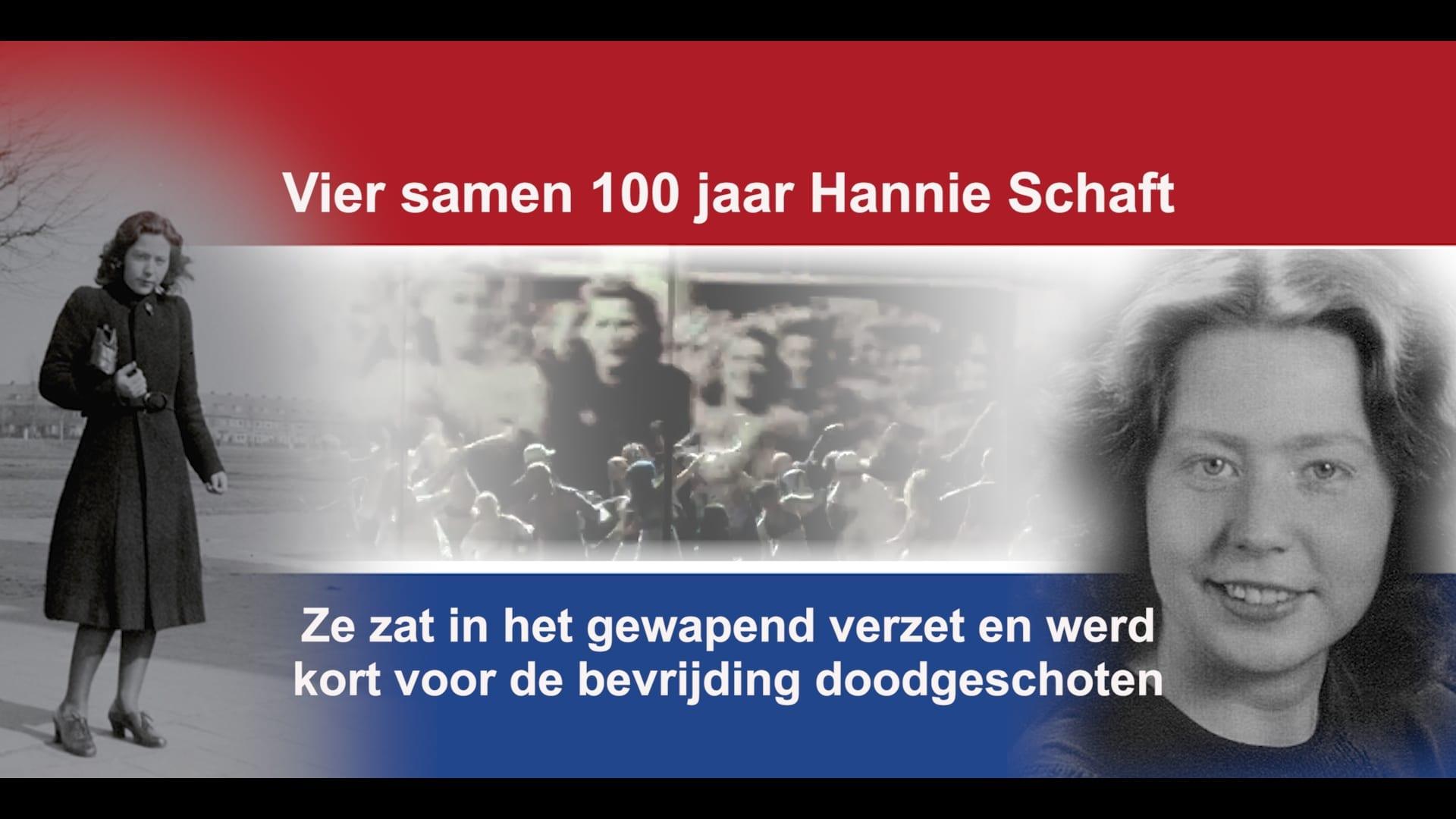 Hannie Schaft 100 Jaar 2020 Geef Een gezicht