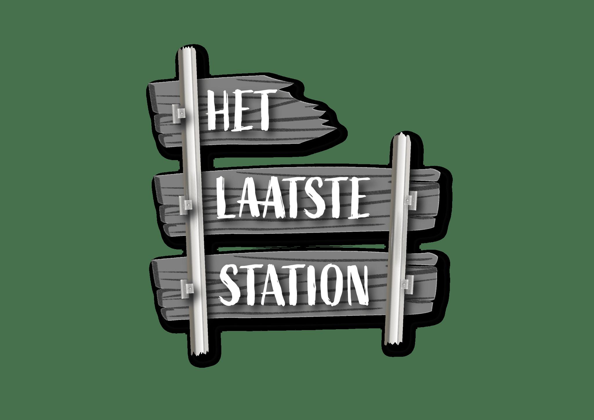 Het laatste station logo