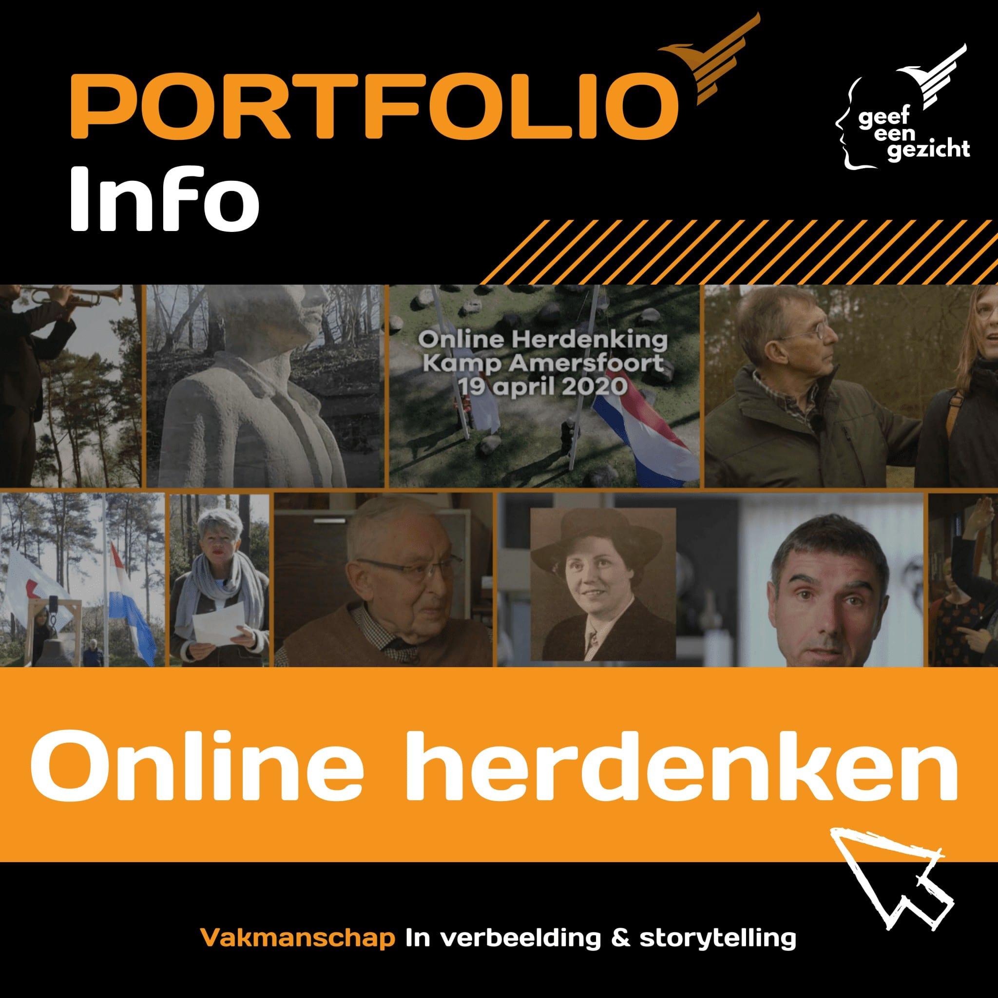 Online herdenking organisatie