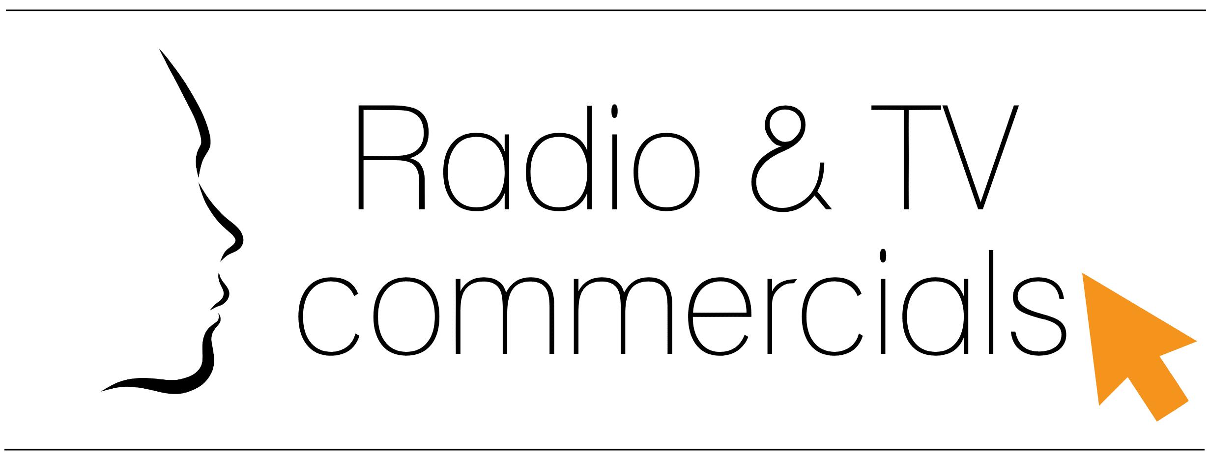 Televisie commercials en Radiospots