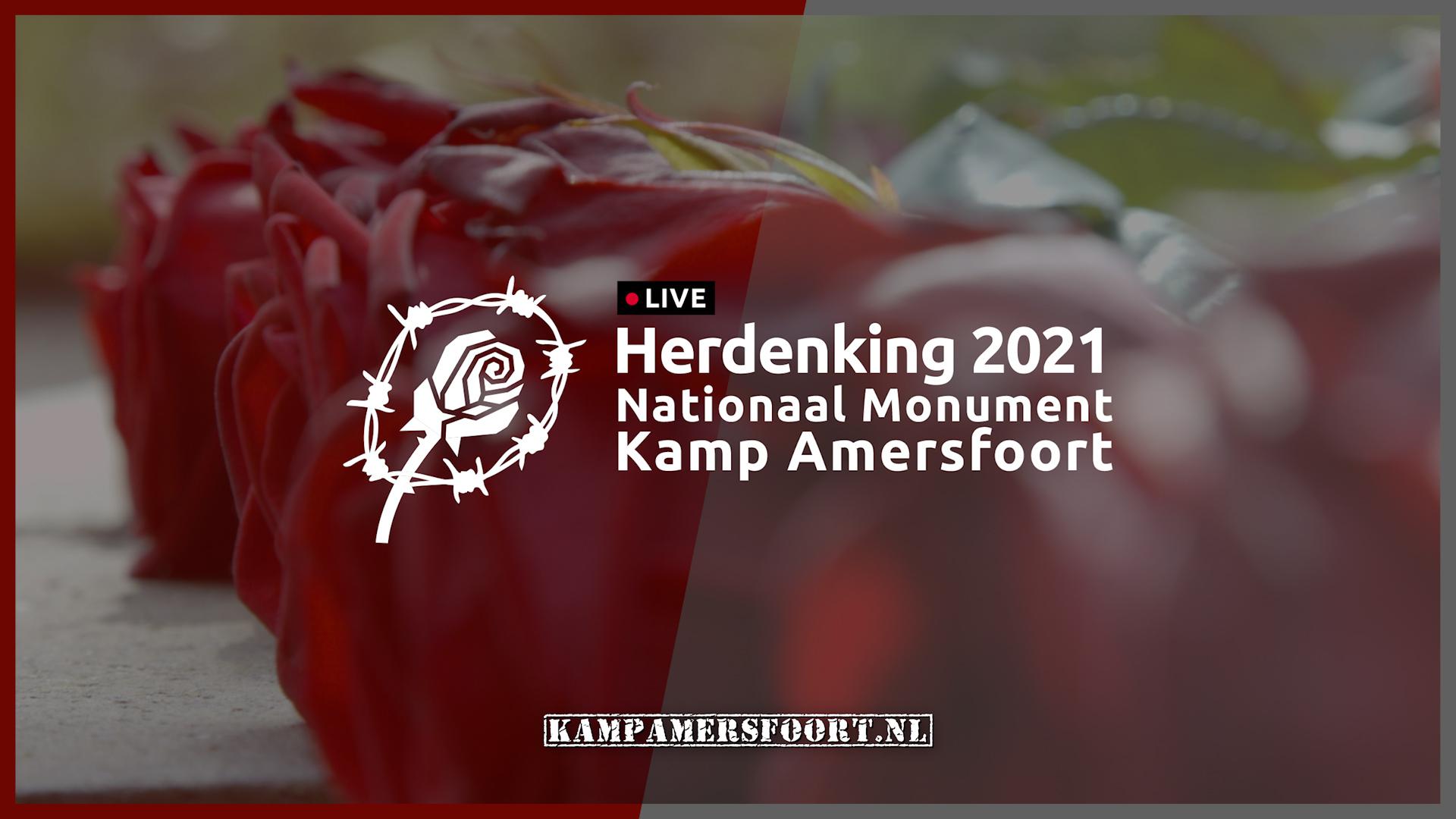 online herdenking Kamp Amersfoort 2021